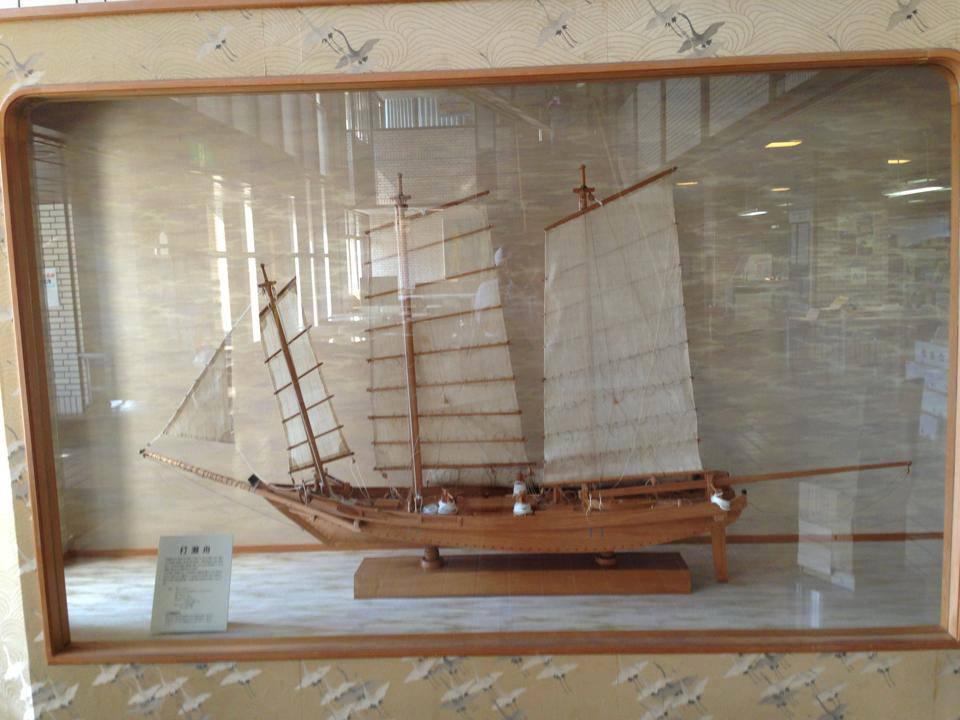 打瀬舟の模型